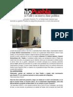 25-01-2014 Sexenio Puebla - Rafael Moreno Valle y su nueva clase política