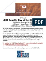 Equality Day 2014 Flyer