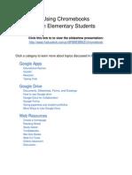 Waverly Elementary Chromebooks