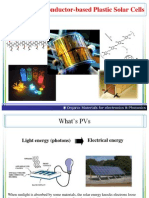 Organic Semiconductor-based Plastic Solar Cells