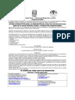 Xi Foro - Interinstitucional LA HOMEOPATÍA DEL SIGLO XXI. Convocatoria