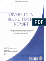 Diversity in Recruitment Report - Executive Summary