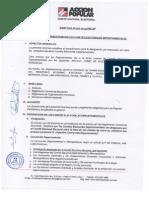 Designación y atribuciones CED