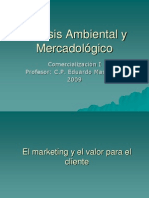 Analisis Ambiental y Mercadologico