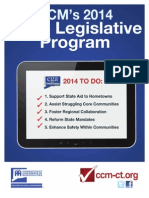 Connecticut Conference of Municipalities 2014 Legislative Priorities