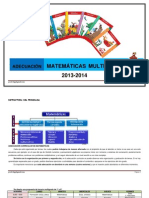2 Adecuación multigrado de matemáticas