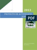 proyecto actividades jovenes