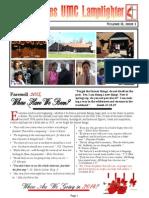 St James UMC Jan 2014 Newsletter