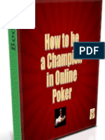 How To be a Champion in Online Poker