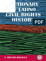 Dictionary of Latino Civil Rights History by F. Arturo Rosales