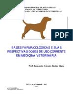 BASES FARMACOLÓGICAS E SUAS RESPECTIVAS DOSES DE USO CORRENTE EM MEDICINA VETERINÁRIA GuiaTerapeutico Veterinario(portugues)