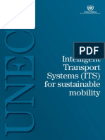 Intelligent Transport Systems for Sustainable Mobility UN 2009