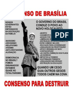 CONSENSO DE BRASÍLIA - DESTRUIR