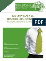 Las Empresas y El Desarrollo Sustentable