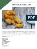 Las Recetas de Mj_ Popcorn Chicken Con Salsa Barbacoa by Kfc