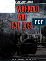 HIIT Workout Fat Loss Alex