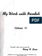 Henry Swan MY WORK WITH NECEDAH Volume IV 1959 Second Printing 1976
