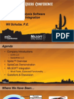 Structural Analysis Software and Milsoft Utility Solution Integration - Wil Schulze, PE
