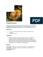 Tropical Fruit Ice