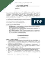 Ley General de Arbitraje