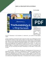 Thomassique, La Ville Qui Vous Accueille