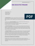 Nº1 Estructura del sistema de Educacion en el peri