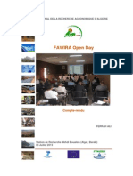 FAWIRA Open Day Report