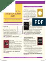 Random House 2014 Religion Flyer