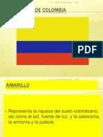 SIMBOLOS PATRIOS COLOMBIA-ESPAÑA
