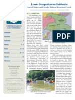 Lower Susquehanna Subbasin Small Watershed Study