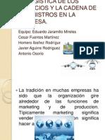 5 La Logistica de Los Negocios y La Cadena
