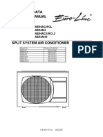 Air Conditioning Euroline Service Manual Th AE64AC AH ACL