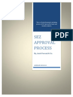 Sez Approval Requirements
