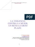 La Violencia Contra La Mujer Previo