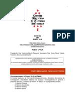 Boletín 392 del CMCH Enero de 2014