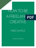 How to Be a Freelance Creative - Jonny Elwyn_Free Sample