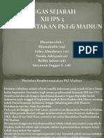 Pemberontakan Pki Di Madiun (Powerpoint)