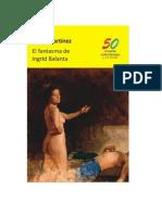 El fantasma de Ingrid Balanta. Fabio Martínez. Novela