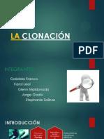 LA CLONACIÓN JORGE OSORIO