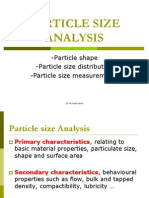 Particle Size Analysis-2011