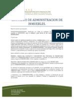 Contrato Admon Inmuebles
