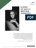 Sophia Mello Breyner Vida e Obra