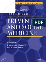 Mahajan & Gupta Textbook of Preventive & Social Medicine (4th Ed.)