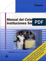 Manual Del Celador de Instituciones San It Arias