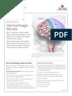 Let's Talk About Hemarrhagic Stroke