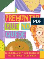 La inmigración y los derechos de los niños y las niñas