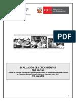 Exmen Educacion Inicical DRELM 2014