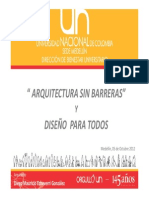 Arquitectura Sin Barreras