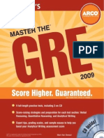 Pages From Master the GRE 2009-2