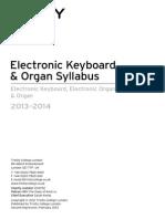 Keyboard and Organ Syllabus 2013 2nd Imp for Web